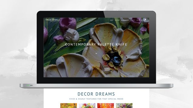 Ecommerce Design - Decor Dreams Portfolio
