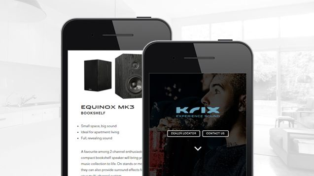 Website Design Adelaide - Krix