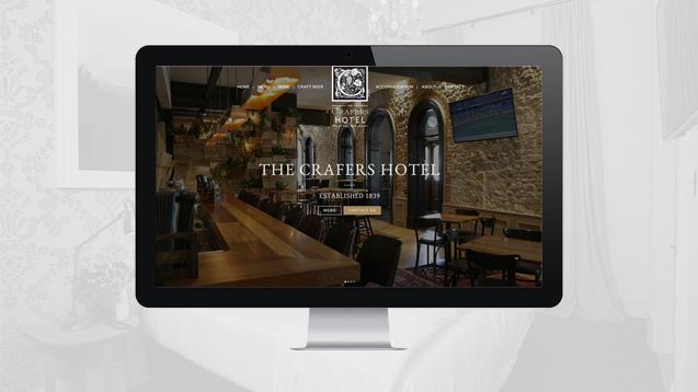 Crafers Hotel Adelaide Hills Web Design
