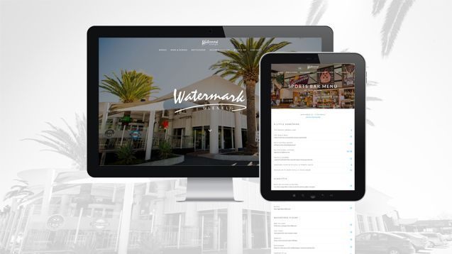 Website Design Adelaide - Watermark Glenelg Portfolio
